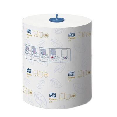 Kéztörlő tekercses TORK Matic Soft Prémium H1 2 rétegű fehér
