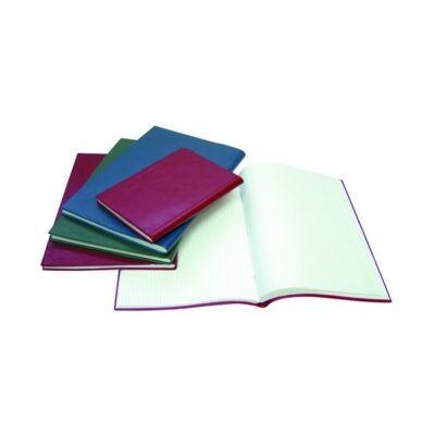 Beírókönyv A/4 pvc 200 lapos kockás