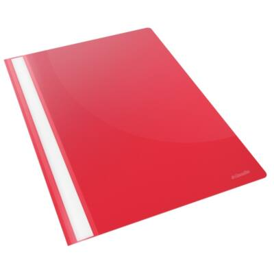 Gyorsfűző ESSELTE Standard Vivida műanyag piros
