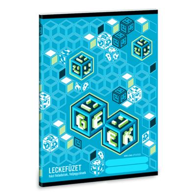 Leckefüzet ARS UNA A/5 32 lapos Geek