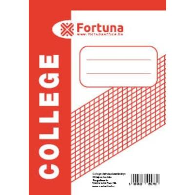 Jegyzettömb spirálos FORTUNA College A/7 50 lapos kockás