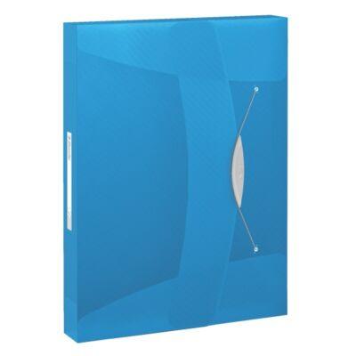Gumis mappa ESSELTE Vivida Jumbo A/4 40mm kék