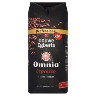 Kávé szemes DOUWE EGBERTS Omnia Espresso 1000g