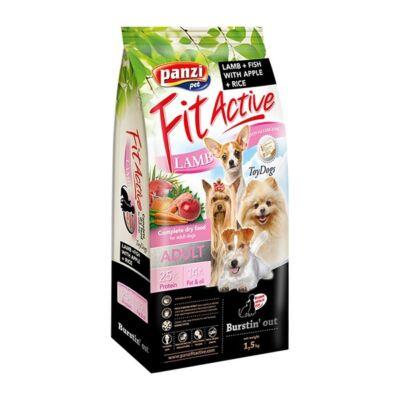 Állateledel száraz PANZI FitActive Hypoallergén kistestű felnőtt kutyáknak báránnyal, hallal, almával és rizzsel 1,5 kg