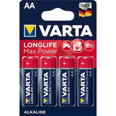 Elem ceruza VARTA `Longlife Max Power` AA 4-es