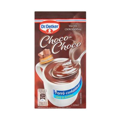 Forrócsokoládé instant DR OETKER Choco-Choco klasszikus 34g