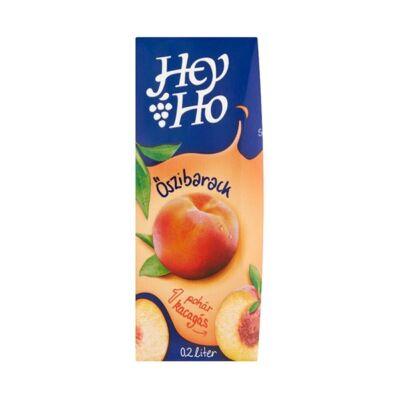 Gyümölcslé HEY-HO őszibarack 25%-os 0,2L