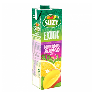 Gyümölcslé SUZY Exotic narancs-mangó  5 %-os 1L