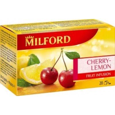 Gyümölcstea MILFORD cseresznye-citrom 20x2,5g