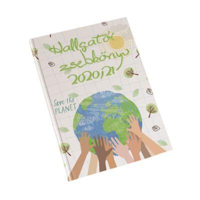 Hallgatói zsebkönyv REALSYSTEM papírborító A/5 heti Planet 2020-2021