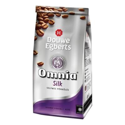 Kávé szemes DOUWE EGBERTS Omnia Silk 1000g