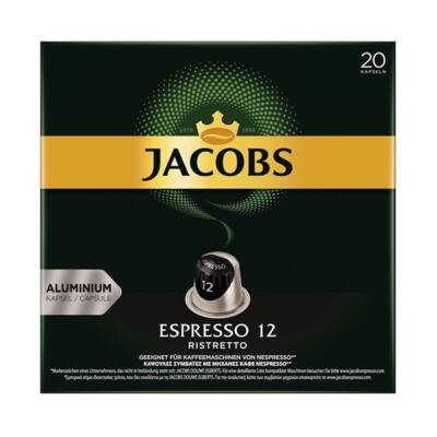 Kávékapszula JACOBS Nespresso Espresso Ristretto 52g