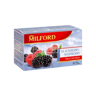 Gyümölcstea MILFORD szeder-málna 20x2,5g